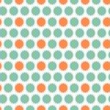 无缝的传染媒介abstrct铺磁砖了装饰品 向量例证
