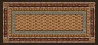 无缝的传统几何丝绸背景 皇族释放例证