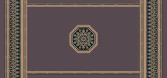 无缝的传统几何种族背景 皇族释放例证