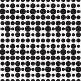 无缝的光点图形 免版税图库摄影