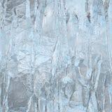 无缝的冰纹理,冬天背景 库存图片