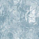 无缝的冰纹理,冬天背景 免版税库存图片