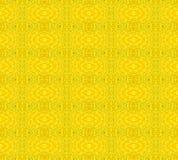 无缝的减速火箭的样式黄色唯一颜色 免版税库存图片