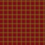 无缝的减速火箭的纺织品格子呢红色方格的纹理格子花呢披肩啪答声 免版税库存图片