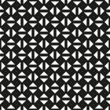 无缝的几何三角检查方形的样式背景 皇族释放例证