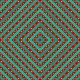 无缝的几何五颜六色的样式 库存图片