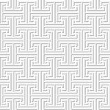 无缝的几何回纹饰 库存图片