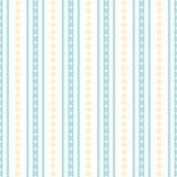 无缝的几何垂直的条纹图形 库存图片