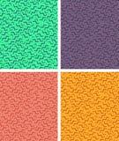 无缝的几何孟菲斯样式 库存照片