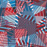 无缝的几何抽象 免版税库存照片