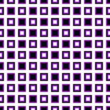 无缝的几何方形的样式背景-传染媒介例证 向量例证