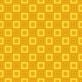 无缝的几何方形的样式背景 皇族释放例证