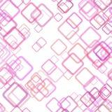 无缝的几何方形的样式背景-导航从任意对角正方形的设计与不透明作用 皇族释放例证