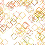 无缝的几何方形的样式背景-导航从对角正方形的设计与不透明作用 向量例证