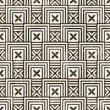无缝的几何样式。 图库摄影