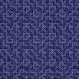 无缝的几何样式夜 免版税库存图片