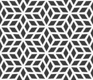 无缝的几何样式由金刚石做成 库存照片