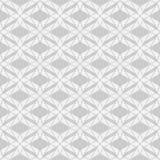 无缝的几何样式纹理在单色背景中 库存照片