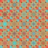 无缝的几何样式 库存图片