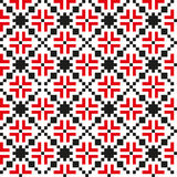 无缝的几何样式 免版税库存照片