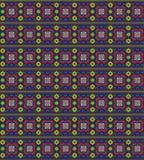 无缝的几何样式 皇族释放例证