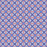 无缝的几何样式 免版税库存图片