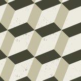 无缝的几何模式 免版税库存图片