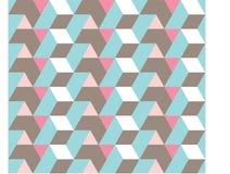 无缝的几何模式 向量例证