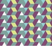 无缝的几何模式 库存例证