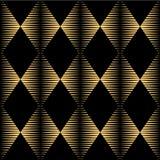 无缝的几何纹理样式背景 库存例证