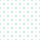 无缝的几何花卉样式 图库摄影