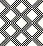 无缝的几何菱形滤网样式 免版税库存照片