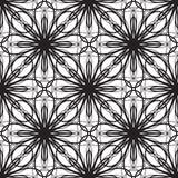 无缝的几何装饰品传染媒介例证 免版税库存照片
