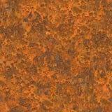 无缝的剥落的铁锈纹理 免版税库存照片