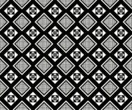 无缝的单色样式19 向量例证
