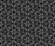 无缝的单色样式20 向量例证