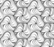无缝的单色样式15 向量例证