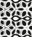 无缝的单色样式6 向量例证