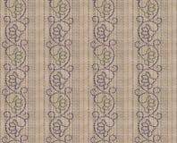 无缝的单音方巾样式 皇族释放例证