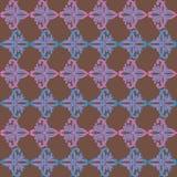 无缝的原始几何背景 免版税库存图片