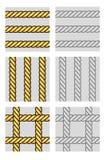 绳索无缝的向量 免版税库存照片