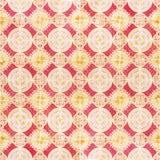 无缝的啪答声由传统azulejos瓦片制成 免版税库存照片