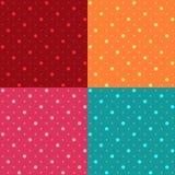 无缝的圆点样式背景 向量例证