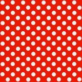 无缝的圆点花样的布料模式 免版税库存照片