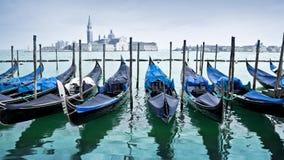 无缝的圈-威尼斯长平底船意大利, HD录影 影视素材