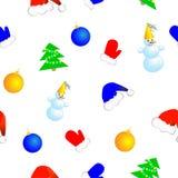 无缝的圣诞节 免版税图库摄影