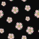 无缝的在纹身花刺样式的传染媒介佐仓任意样式 免版税库存图片