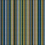 无缝的垂直的编织的墙纸 库存例证