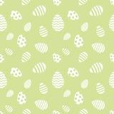 无缝的复活节彩蛋模式 库存照片