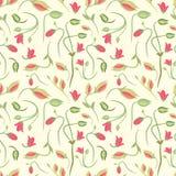 无缝的夏天微小的花卉样式 免版税图库摄影